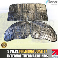 Citroen Relay 2006-2017 Thermal Blinds Internal Premium Quality Blind Cover 3pc