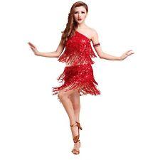 Jazz Latin Dance Costume Girl Party Dress Dancing Top Skirt Carnival dress