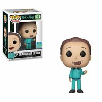 Funko Pop Rick And Morty Tracksuit Jerry # 574 2019 Summer Convention Exclusive
