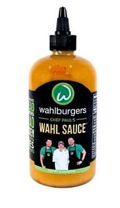 Wahlburgers Chef Paul's Wahl Sauce 12oz Bottle BEST BY DATE 11/26/2021