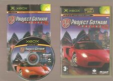 Rare !!! PROJECT GOTHAM RACING 2  : Grandiose sur X BOX