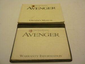 99 AVENGER OWNERS MANUAL 77225