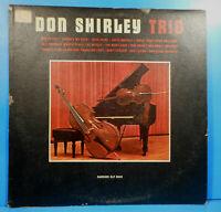 DON SHIRLEY TRIO SELF VINYL LP 960 MONO ORIGINAL PRESS NICE CONDITION! VG/VG!!