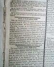 JAMES K. POLK Death - Colt Pistol & Runaway Slave Advertisements 1849 Newspaper