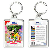 LAND OF ILLUSION  MICKEY MOUSE MASTER SYSTEM KEYRING LLAVERO