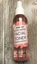Trader Joe's Rose Water Facial Toner Hydrate and Refresh Spray 4 oz FREE SHIP