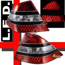 00-05 Mercedes Benz W220 S Class S430 S500 S600 LED Tail Lights Black Strip