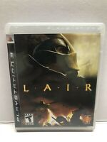 Lair (Sony PlayStation 3, 2007) Complete w/ Manual - Tested Working Free Ship