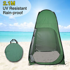 Pop Up Toilet Shower Tent Changing Room 2.1M Beach Camping Portable Private