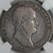 1803-I NGC VF 30 FRANCE Silver 5 Francs AN 12 Napoleon POP 1/0 Coin (16111609C)