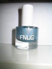 New FNUG Holographic Holo FUTURISTICA 39 Light Blue Nail Polish Prism HOLOGRAM