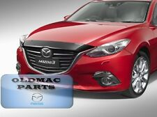 Genuine Mazda Mazda3 BM Smoked Tinted Bonnet Protector Sedan Hatch BM11ACBP