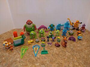 Monsters University Inc Imaginext Action Mini  Figure accessory scare floor  Lot