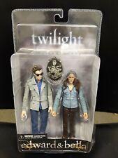 "Twilight Saga Edward Cullen and Bella Swan 7"" NECA Action Figures SW1"