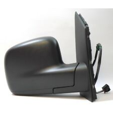 VW Caddy Van 2010-2015 O/S Door Mirror Electric Heated Type With Black Cover