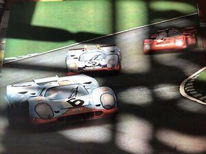 Porsche poster 917 Raceway
