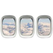 VWAQ Aviation Decals Airplane Window Sticker Clouds Wall Art