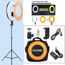 """18"""" 58W LED SMD Ring Light Kit with Stand Dimmable 5500K for Makeup Phone Camera"""
