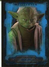 Star Wars Masterwork Yoda Star Wars Collectable Trading Cards