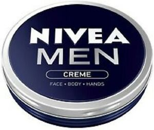 2 x Nivea Men Creme for Face - Body - Hands - FULL SIZE TINS - 150ml EACH