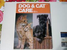 Dog & Cat Care Book by Jane Thornton Pet 123 HOME GUIDES 1978 Ships Free