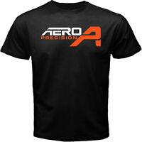 Aero Precision Firearm AR10 AR15 M4 M16 Rifle Hunting Black T-shirt Size S To 5X