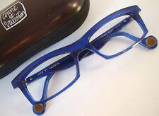 Anne et Valentin FACTORY EIGHT 1116 Blue Eyeglasses Frame 52-19 Medium FRANCE