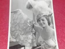 "FUNDS GERMAINE ROGER - VINTAGE PHOTO ""Baker '"" 1932 Operetta Cinema"