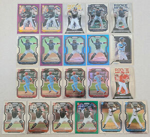 2021 Panini Prizm Rookie Base + Prizm Card Lot of 21 Ke'Bryan Hayes Joey Bart