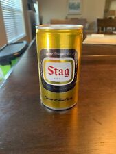 1970s Stag pull tab style beer can Carling Brewery Co. Belleville, Il