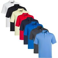 NEW 2019 Callaway Mens Golf Essential Micro Hex Polo Shirt - Choose Size & Color