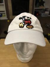 Disney World Parks Mickey Mouse Sequin White Baseball Cap