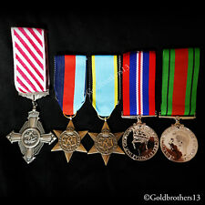 5x Set Air Force Cross , 1945 star Air Crew Star War Medal & Defence Medal Repro