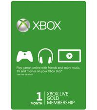 Microsoft Xbox Live Gold Card 1 mese Invio rapido