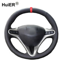 For Honda Civic Old Civic 2004-2010 2011 Hand Sewing Car Steering Wheel Cover