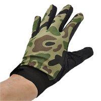 Anti-slip Gloves Camo Green Airsoft Paintball