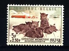 BELGIUM - BELGIO - 1957 - Spedizione antartica belga 1957/1958