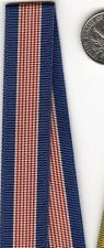 12+ inches of Original WWII era US Army MINIATURE Soldiers Medal RIBBON mini