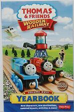 2013 YEARBOOK Thomas Tank Engine Wooden Railway NEW