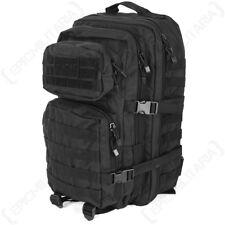 MILTEC NERO MOLLE Assault Pack 36L MILITARE TATTICO Zaino Zaino Borsa Esercito