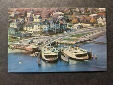 Ferries JAMESTOWN & NEWPORT, Rhode Island Naval Cover unused postcard