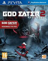 God Eater 2: Rage Burst w/ God Eater Resurrection [Sony PlayStation PS Vita] NEW
