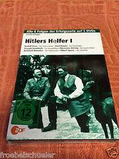 Guido Knopp: Hitlers Helfer 4 DVDs Documentary Himmler Speer WW II  Hess Goering