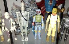 Star Wars Vintage Kenner Bounty Hunter figure lot!!!!!