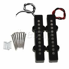 2 Pieces Noiseless Open Single Coil Pickup for 5 String Electric JB Bass