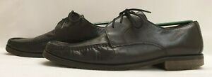 CLARKS Mens Shoes Size 12 EU 47 Black Leather Formal Shoes