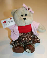 2011 Starbucks Coffee Company Valentine's Girl Bearista Bear