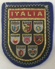 Patch Of Italy-Coat Of Arm-ITALIA