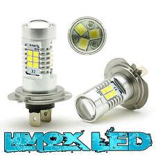 2x H7 Xenon LED 4G Nebelscheinwerfer Birnen 700 Lumen Ford Galaxy WGR Weiß Neu