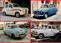 Malta Transport - 4 Car Photos - Austin A30 A35 & A40 A50 Cambridge - late 1990s